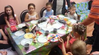 День рождения кати 6лет сыктывкар