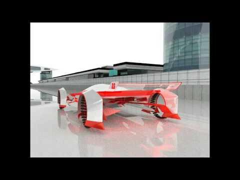 Coventry University 2014 MA Automotive Design Final project