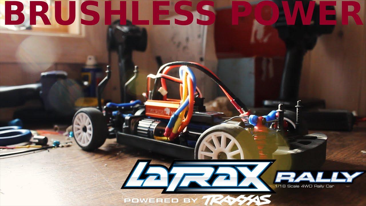 Traxxas latrax rally 1 18 brushless upgrade