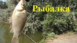 Рыбалка в июле. За шлюзами