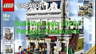 Lego 10243 Parisian Restaurant Time-lapse Build
