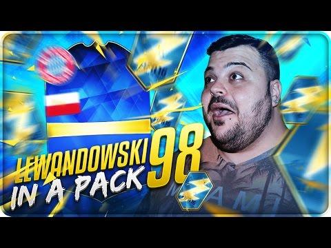 LEWANDOWSKI 98 TOTS IN A PACK ! [FIFA 16]
