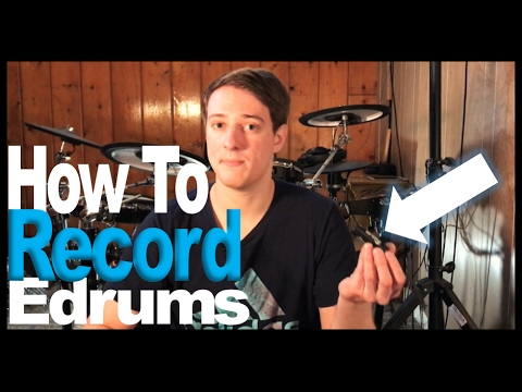 How I Record My Electronic Drums (Plus Behind The Scenes)