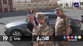 جلالة الملك  يزور القيادة العامة للقوات المسلحة - (11-12-2017)