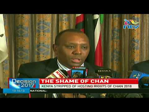 Kenya stripped of hosting rights of CHAN