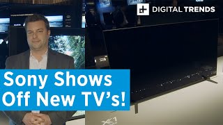 Sony TV Lineup | Hands-On at CES 2020