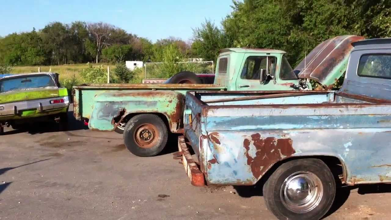 Truck chevy c10 project trucks : 1961 Chevrolet Apache 10 Project, 1963 GMC 1/2 ton - YouTube