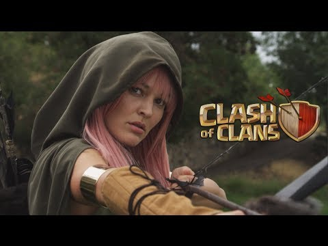Clash of Clans: Live Action Movie  Commercial