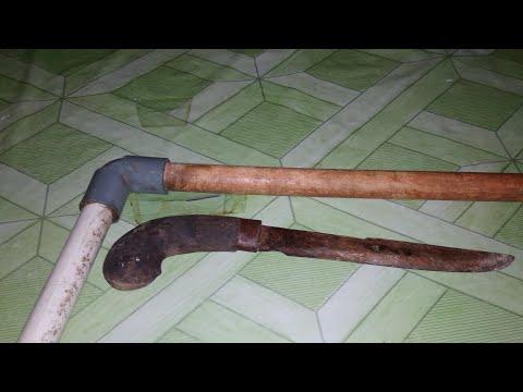 Cara membuat sarung pisau, parang atau golok dari pipa bekas di jamin kuat & tahan lama Mp3