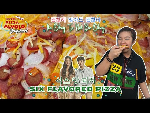 It's Ok To Not Be Ok - Pizza Alvolo Inspired Six Flavored Pizza