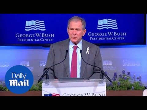 George W. Bush opens up on the death of his mother Barbara -