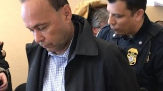 Congressman handcuffed at ICE office speaks out