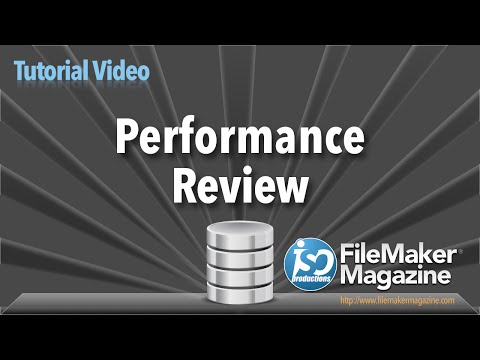 FileMaker Performance Review