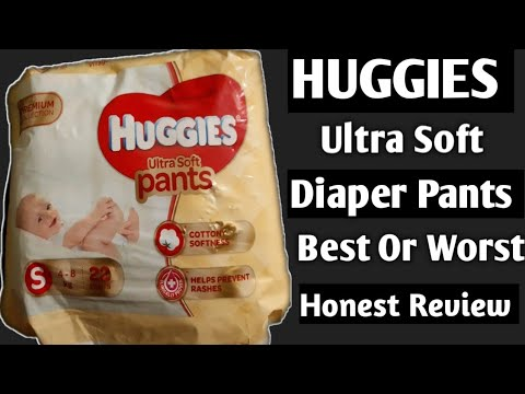 Huggies Ultra Soft Diaper Pants ।। Wetness Indicator ।।  Best Or Worst Baby Product ? Honest Review