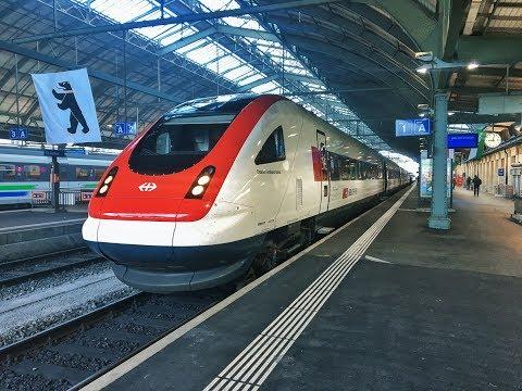 Führerstandsmitfahrt SBB ICN St. Gallen - Zürich