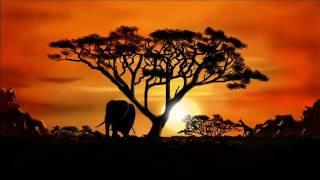 アフリカのサバンナ、アフリカ音楽をリラックスし、伝統音楽 ベスト器楽...