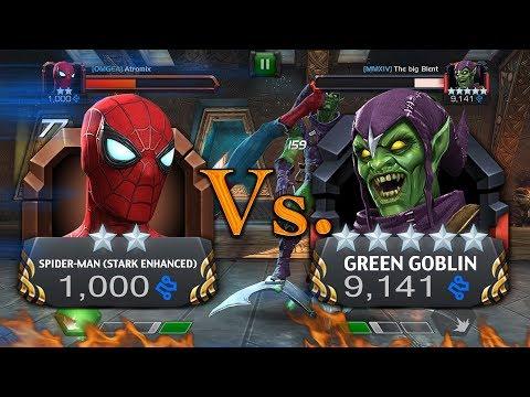 2 Star Spider-man (Stark Enhanced) Vs. 5 Star Green Goblin [MMXIV] The big Bient