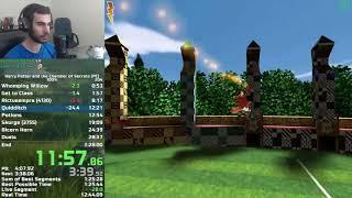 Harry Potter 2 PC 100% Speedrun in 1:27:19