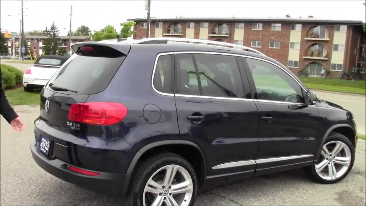2013 vw tiguan r line at volkswagen waterloo with mike. Black Bedroom Furniture Sets. Home Design Ideas