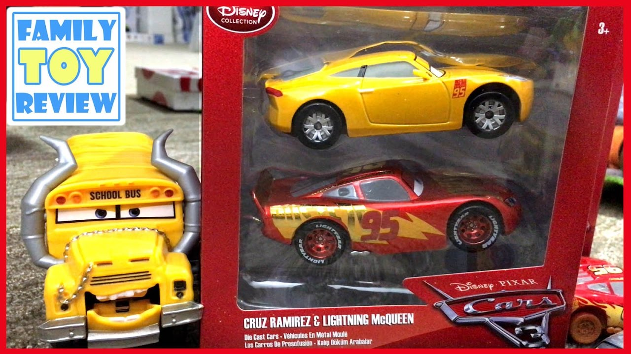Disney Cars 3 Toys Review Cruz Ramirez Gold Metallic Paint
