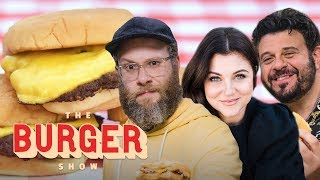 Seth Rogen, Adam Richman, and Tiffani Thiessen Rate the Best Burgers in L.A. | The Burger Show