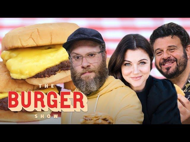 Seth Rogen, Adam Richman, and Tiffani Thiessen Rate the Best Burgers in L.A.   The Burger Show