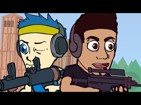 Fortnite Animation | Ninja Squad Fortnite Battle Royale