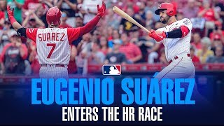Eugenio Suárez - Reds slugger SNEAKS into HR Race, chases 50 home runs