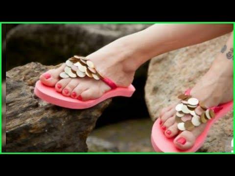 8159ea7be9fbb Niftoon. DIY Summer Sandals Redecorate   Restyle your Flip Flops(Binal  Kathiria)