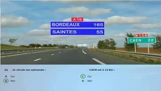 Test type examen Code Rousseau 2019 - Code de la route France 2019