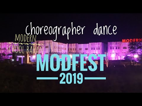 Choreographers dance - modfest 2019 | modern school baran | best tricks of dance | full video