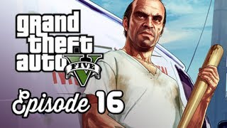 Grand Theft Auto 5 Walkthrough Part 16 - Nervous Ron ( GTAV Gameplay Commentary )