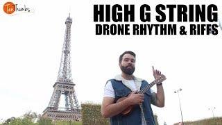 High G Drone Riffs and Rhythm - Passed the Strum Ukulele Rhythm Tutorial