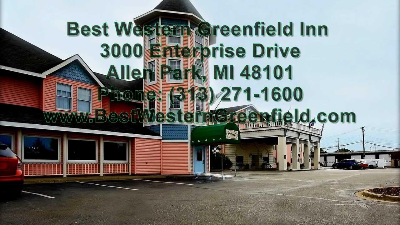 enterprise garden city mi. Best Western Greenfield Inn - Allen Park MI (Metro Detroit) (313) 271-1600 Enterprise Garden City Mi
