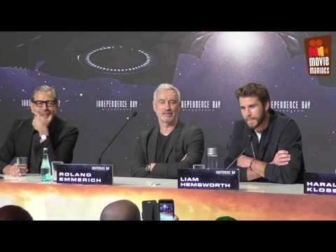 Independence Day 2 - full press conference Berlin (2016) Liam Hemsworth Jeff Goldblum