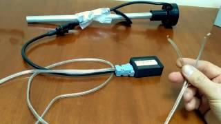 Работа с датчиком Глобус F3. Урок 1. Подготовка