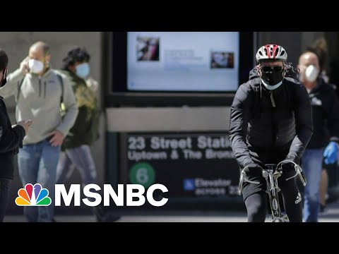 CDC Director Says Agency Looking At If Masks Still Needed Outdoors | Morning Joe | MSNBC
