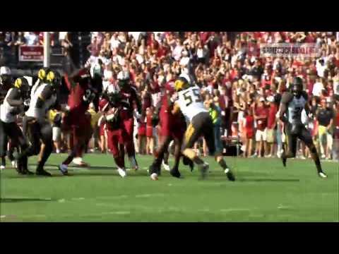 Ace Sanders 49-Yard Punt Return - South Carolina vs. Missouri - 2012