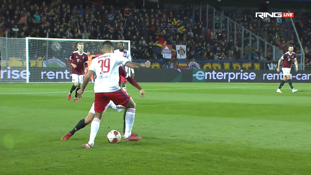 L'Olympique Lyonnais TOTAL RÉGAL face au Sparta Prague