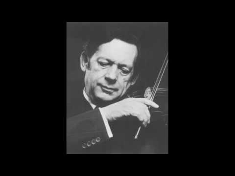 Arthur Grumiaux - Dvorak - Songs My Mother Taught Me (op.55 no.4)