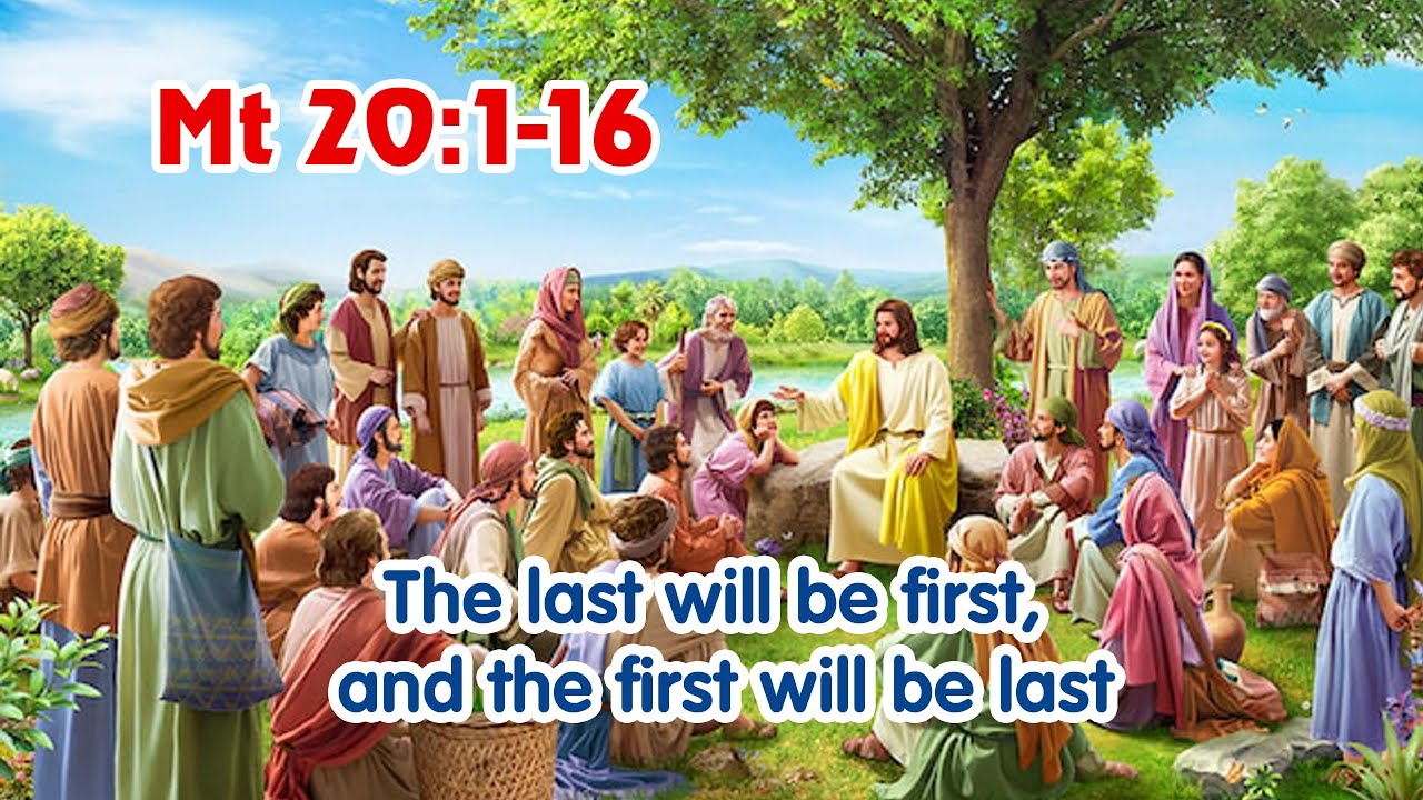 Gospel Reflection - Mt 20:1-16 - The last will be first - Wednesday, Week 20  in Ordinary Time - YouTube