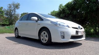 2011 Toyota Prius Start-Up, Full Vehicle Tour, and Test Drive