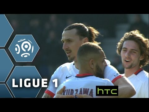 ESTAC Troyes - Paris Saint-Germain (0-9)  - Résumé - (ESTAC - PARIS) / 2015-16