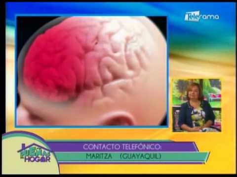 golpe fuerte en la cabeza de un bebe