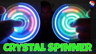 Hand Fidget Spinner LED Crystal Test Review Francais Thinkunboxing 4K