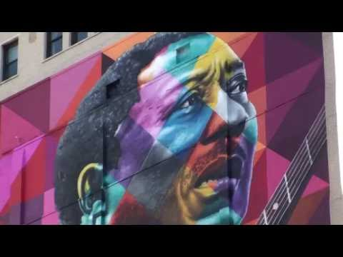 Muddy Waters Street Art Mural & A Visit To Chess Studio