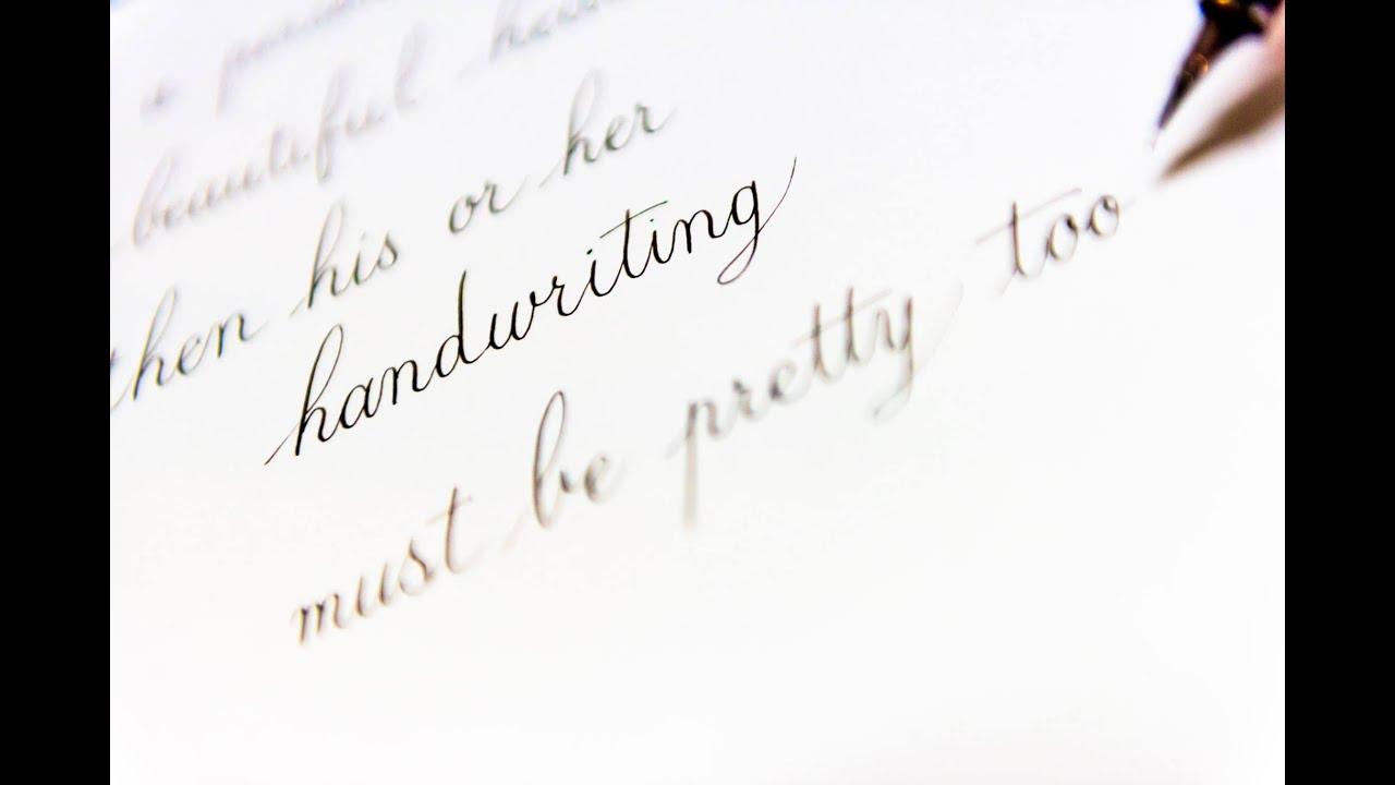 Fountain Pen Beautiful Handwriting Heart Lettering