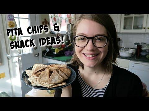 Pita Chips & Snack Ideas