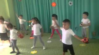 Урок физкультуры в детском саду Smart Elephant(, 2016-01-28T01:21:26.000Z)