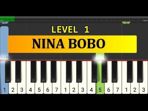 Nada Piano Nina Bobo - Tutorial Piano Grade 1 - Lagu Anak2 Indonesia Nina Bobo